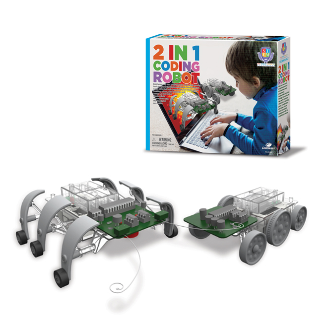 2 IN 1 CODING ROBOT