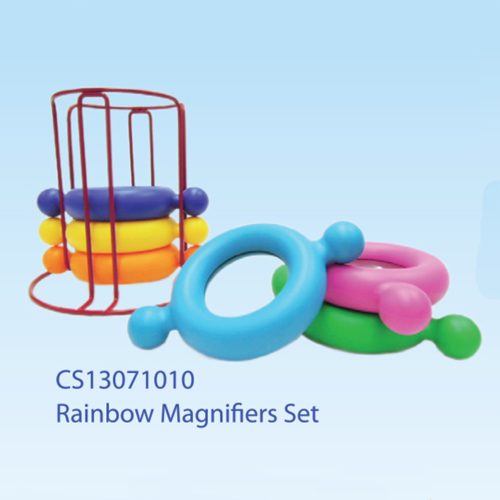 Rainbow Magnifiers Set