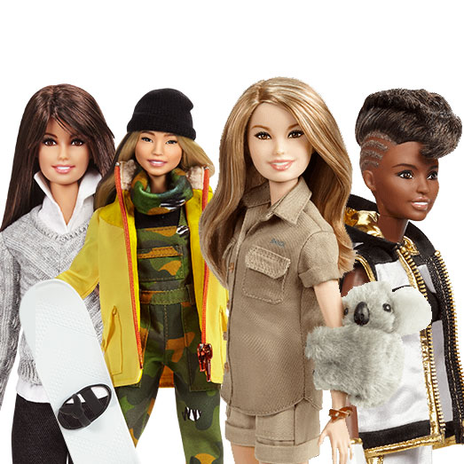 Barbie® Honors Global Role Models On International Women's Day