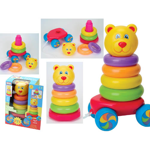 Pull Along Stacking Teddy Roly Poly