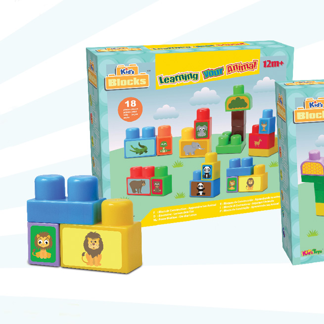 Kid's Blocks - Learning Your Animal