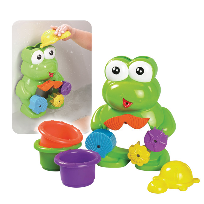 Whirly Frog bath Set