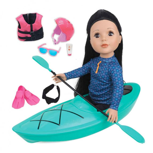 "18"" Fashion Doll - KAYAK Set"