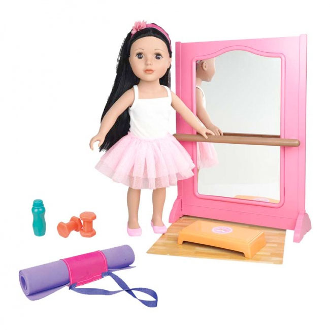 "18"" Fashion Doll - Studio Set"