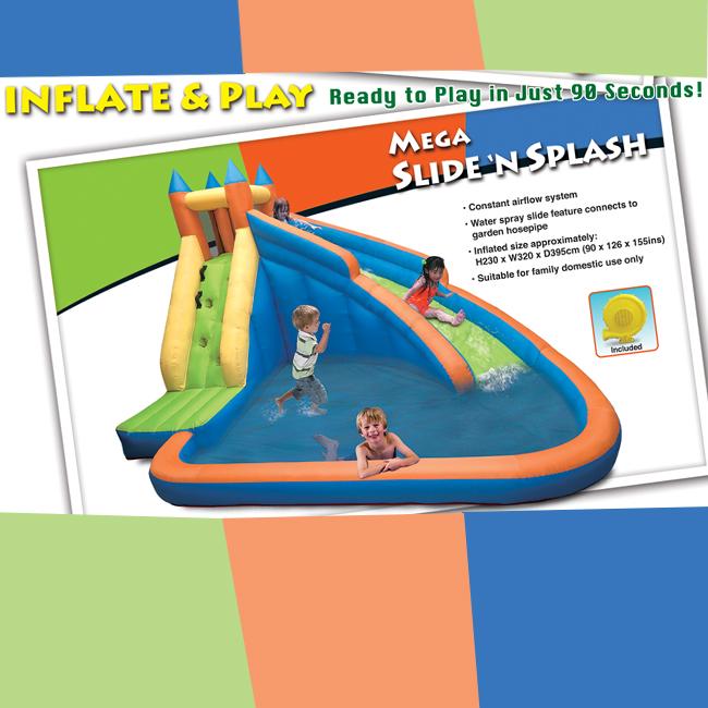 Mega slide n splash