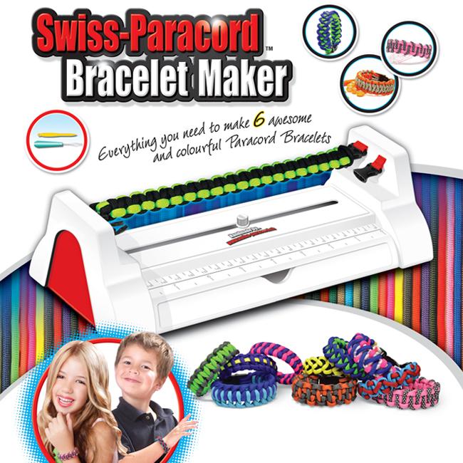 Swiss Paracord Bracelet Maker