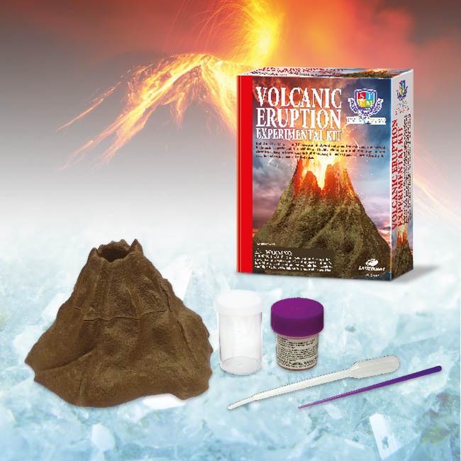 Volcanic eruption Experimental kit