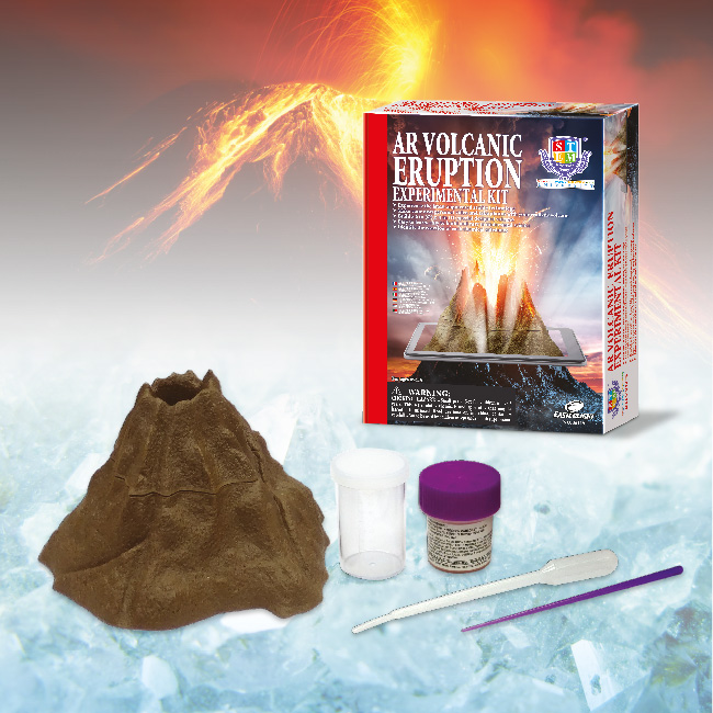 AR Volcanic eruption Experimental kit