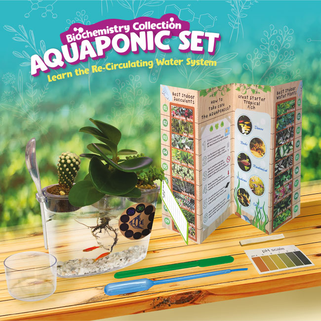 Biochemistry Collection - Aquaponic Set