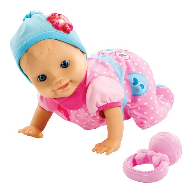 Baby Amaze Crawlin' Cutie Doll
