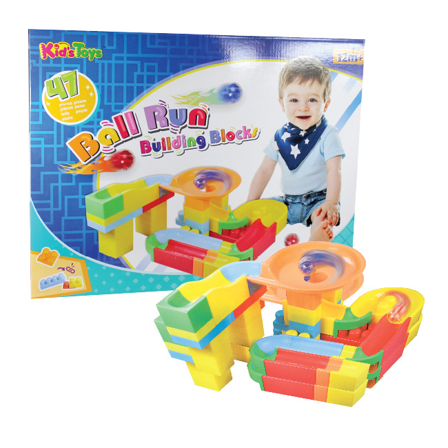 Ball Run Building Blocks