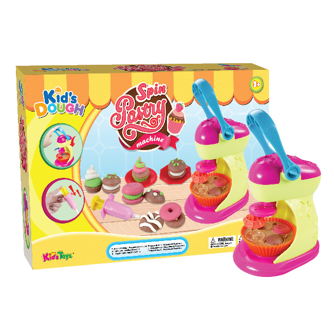 Kid's Dough Spin Pastry Machine