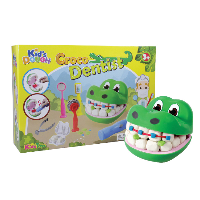 Kid's Dough Croco Dentist