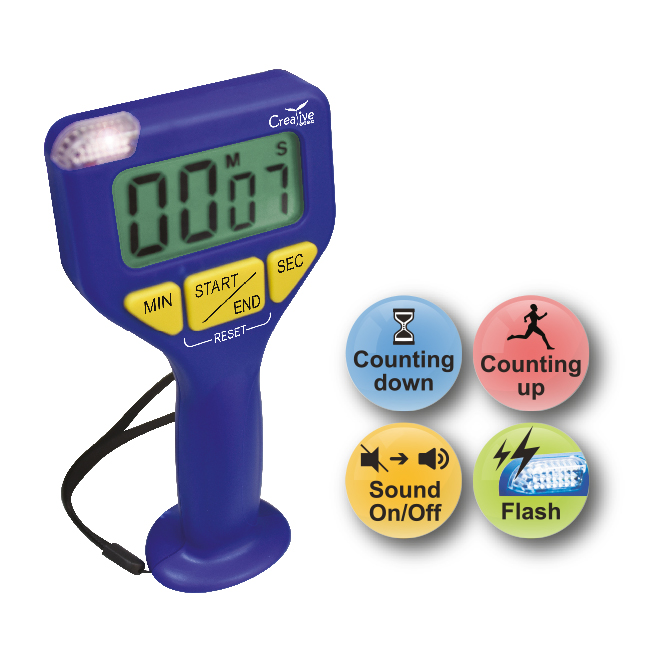 Jumbo Display Handheld Timer