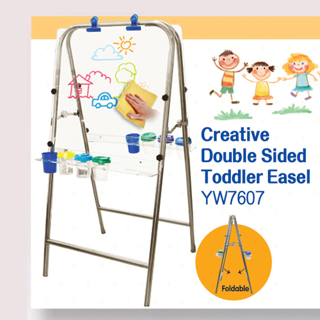 Double Sided Toddler Easel