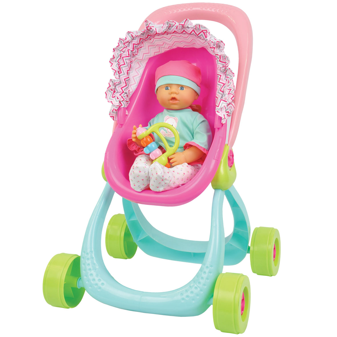 Baby Babbles Stroller & Baby